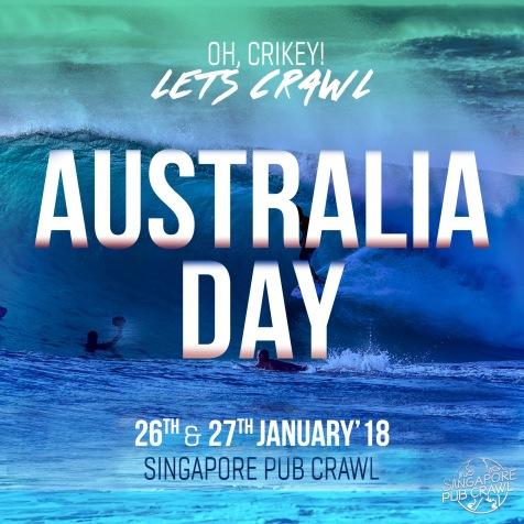 Australia Day Pub Crawl