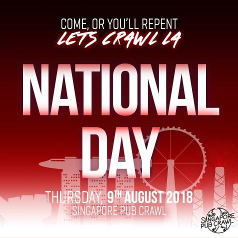 National Day Pub Crawl