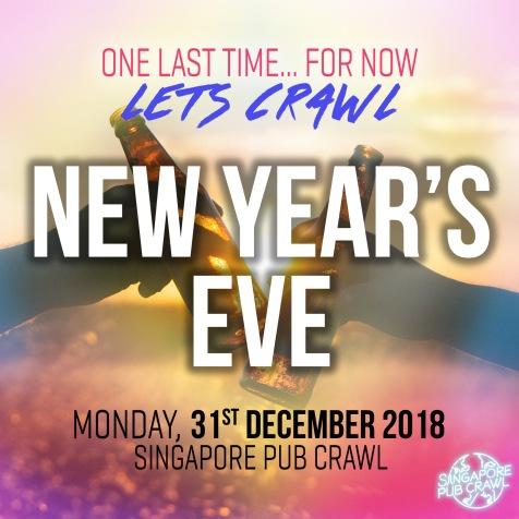 NYE Pub Crawl