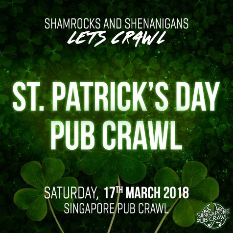 St Patricks Day Pub Crawl