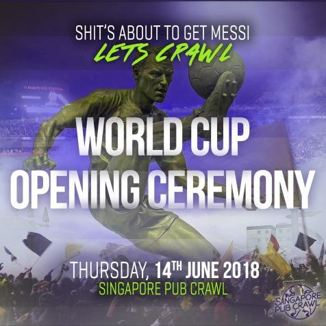 World Cup Pub Crawl