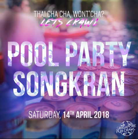 14th Pool Party Songkran Instagram